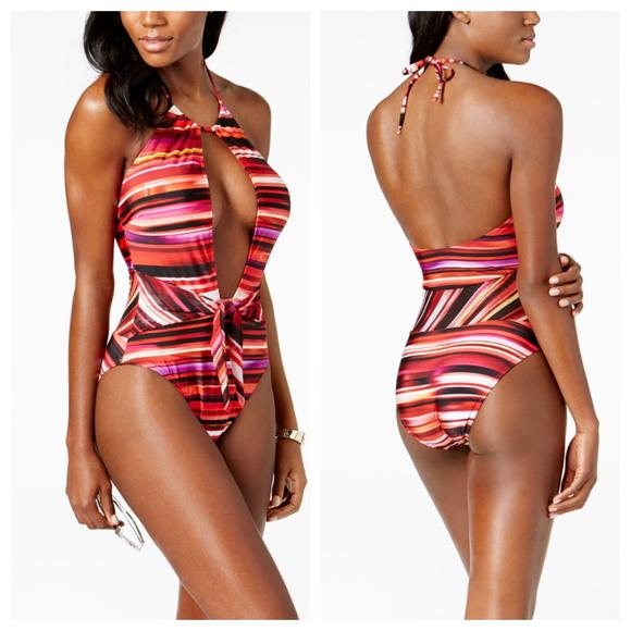 2382f472f1b0a Kenneth Cole Swim | Tummy Control One Piece Suit | Poshmark
